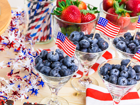 Lets Hear It for the Red, White and Blue by Lisa Mecray Rogers
