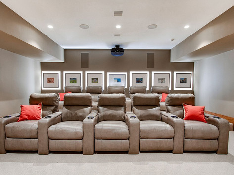 Entertainment Room Additions for Your Family by HOBBS, INC