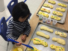 Making Bread for Dia de Muertos (Day of the Dead)