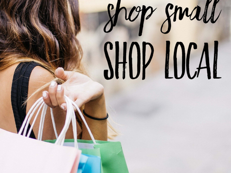 Shop Small, Shop Local: November 28th is Small Business Saturday