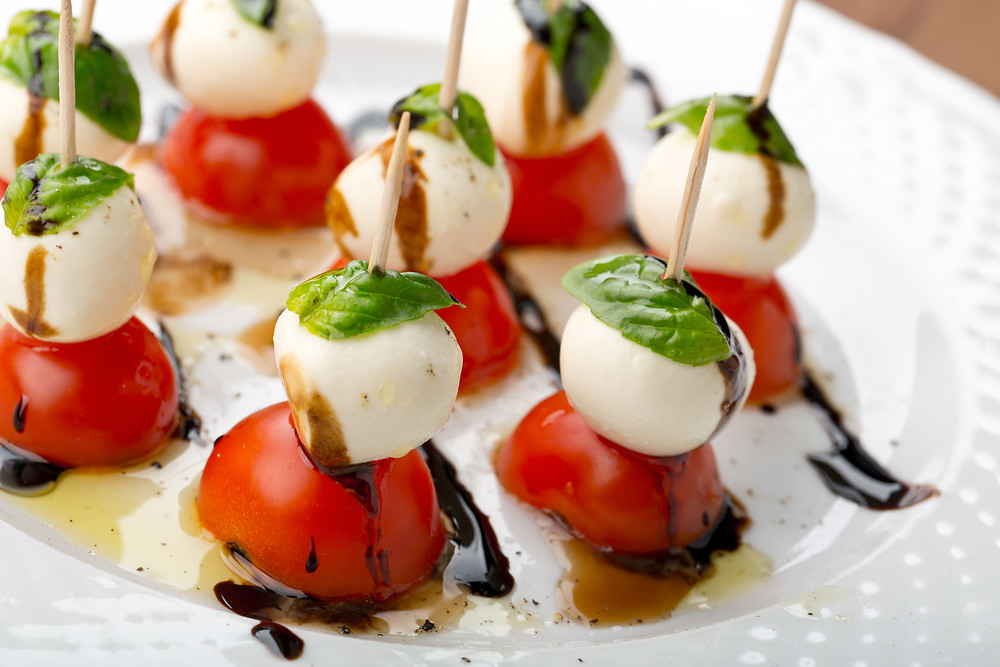 Caprese Salad on a Stick by Stacey Antine, MS, RDN, Bergen County Moms