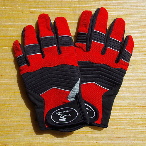 Timeship Freeride Gloves Red & Black