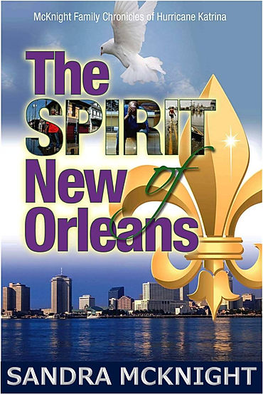 The Sprit of New Orleans- FRONT COVER -
