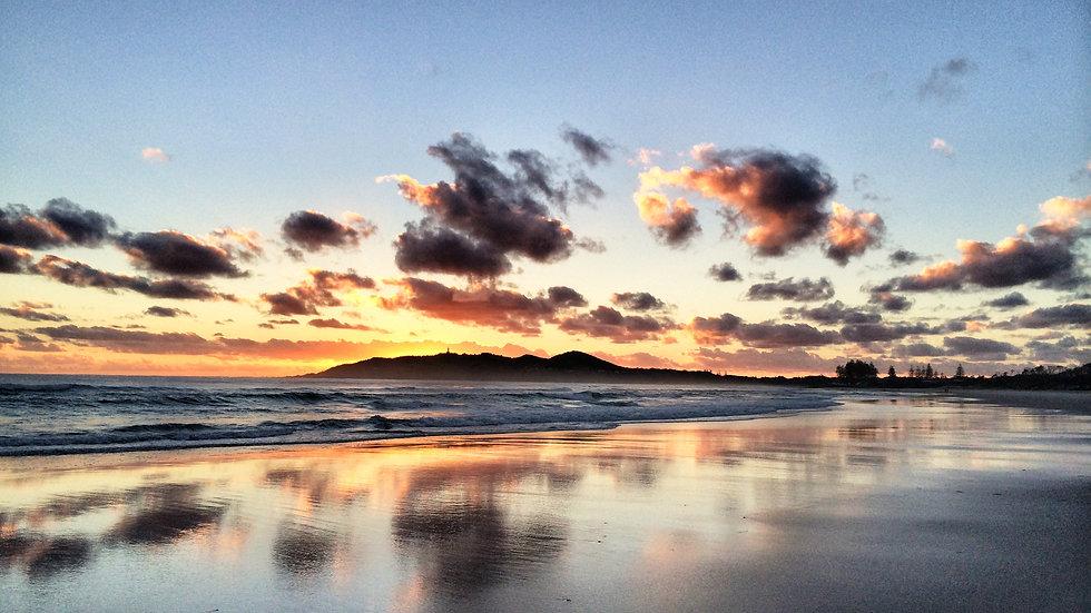 Byron Sunrise 3 I Main Beach I Print