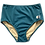Thumbnail: TALLOW high waisted bottom I Teal regenerated