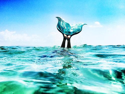 Mermaid days I Byron Bay I Print