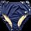 Thumbnail: TALLOW high waisted bottom I Midnight Blue regenerated