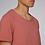 Thumbnail: Organic Cotton Slate on Salty Pink Bike Guy Short Sleeve Tee