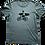 Thumbnail: Organic Cotton Slate on Citabel Blue Bike Guy Short Sleeve Tee