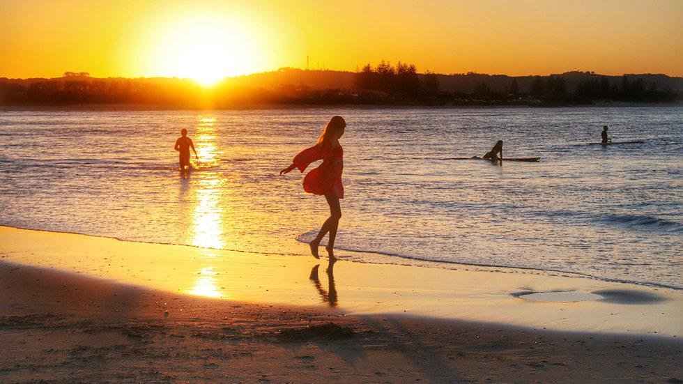 The Pass Sunset 3 I Main Beach I Print