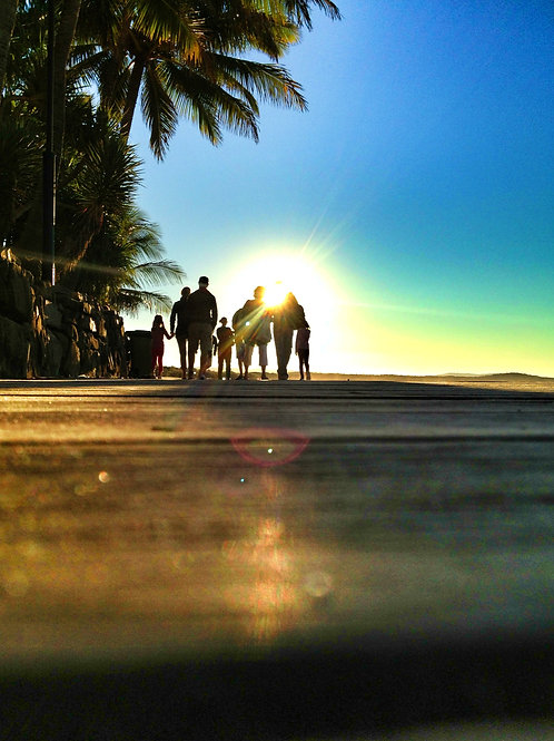 The Boardwalk I Noosa I Print
