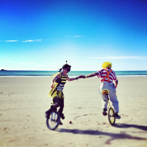 Beach Clowns I Byron Bay I Print