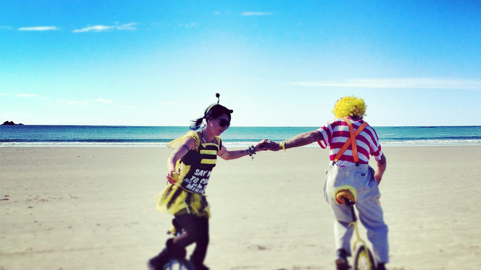 Beach Clowns I Byron Bay I Print