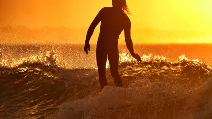 Golden sunset 2 I Byron Bay I Print