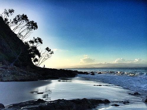 Wategos sunset I Byron Bay I Print (40.6 x 30.5cm)