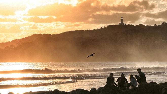Byron Sunrise 4 I Main Beach I Print