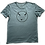Thumbnail: Organic Cotton Slate on Citadel Blue No Bull Short Sleeve Tee