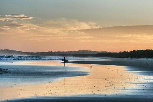Cosy Corner Sunset I Byron Bay I Print