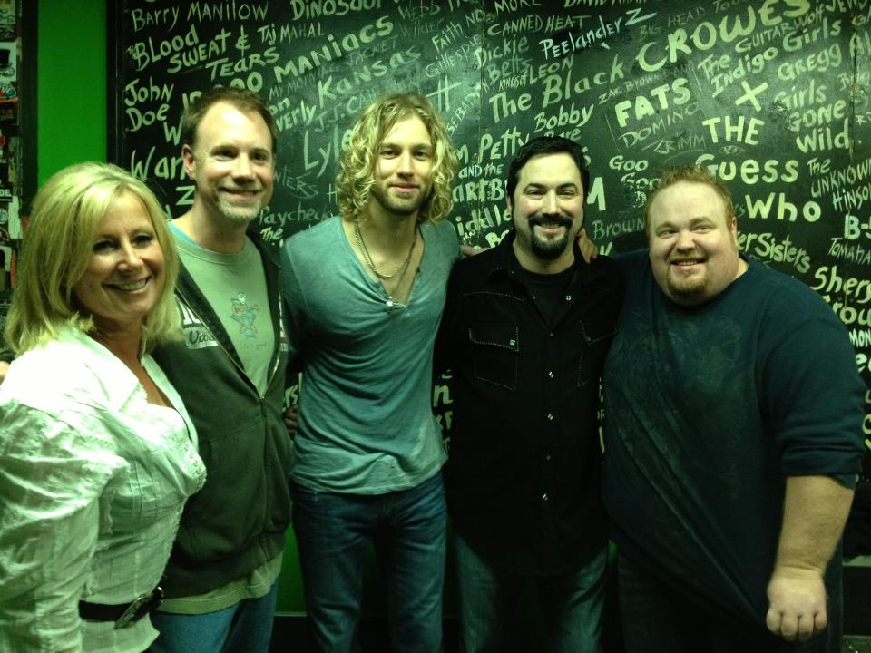 Shane with Casey James and SB21