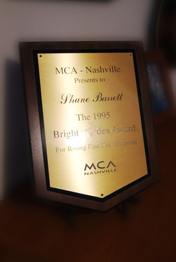 MCA Bright Idea Award