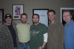 2010-Denny Carr, Matt Turner, Michael Knox, Shane Barrett, Gilles Godard