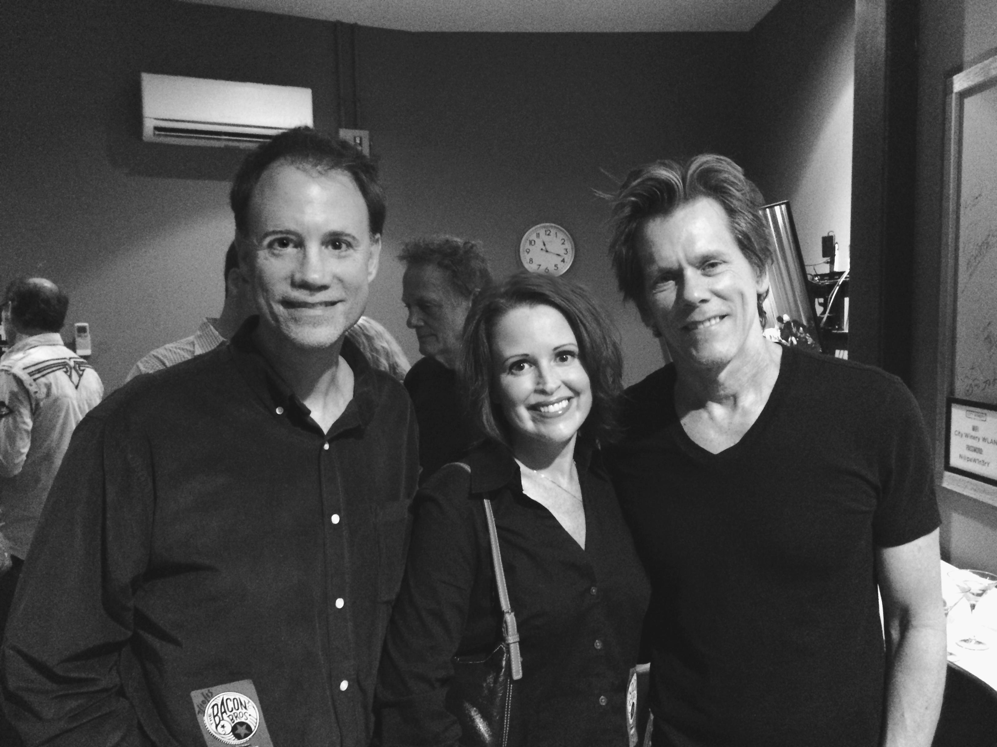 Shane, Melissa Barrett & Kevin Bacon