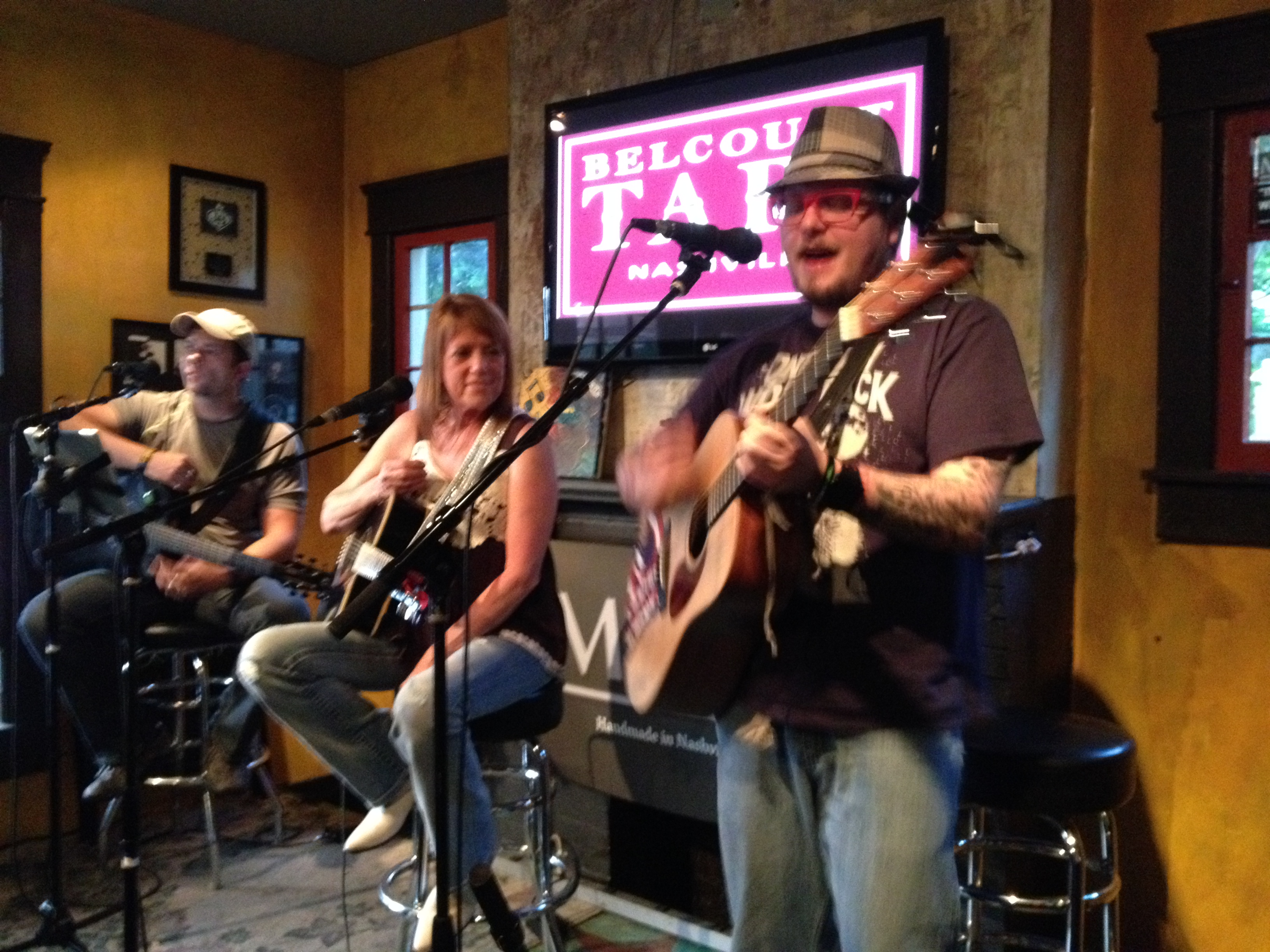 Songwriter Benefit at Belcourt Taps