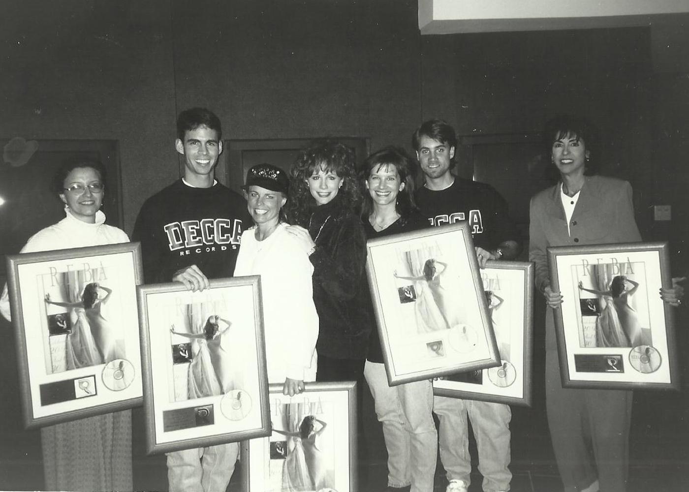 MCA with Reba McEntire