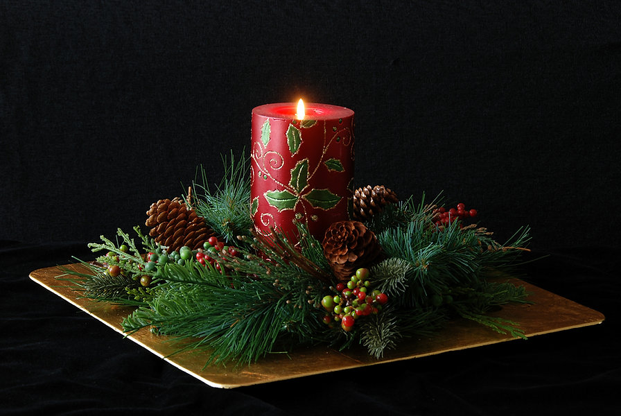 Naimul Karim Naim personal website photgraphy Christmas candle wreath close-up still life