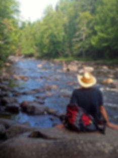 Naimul Karim Naim personal website photography up north Minnesota forest creek relax nature hiking