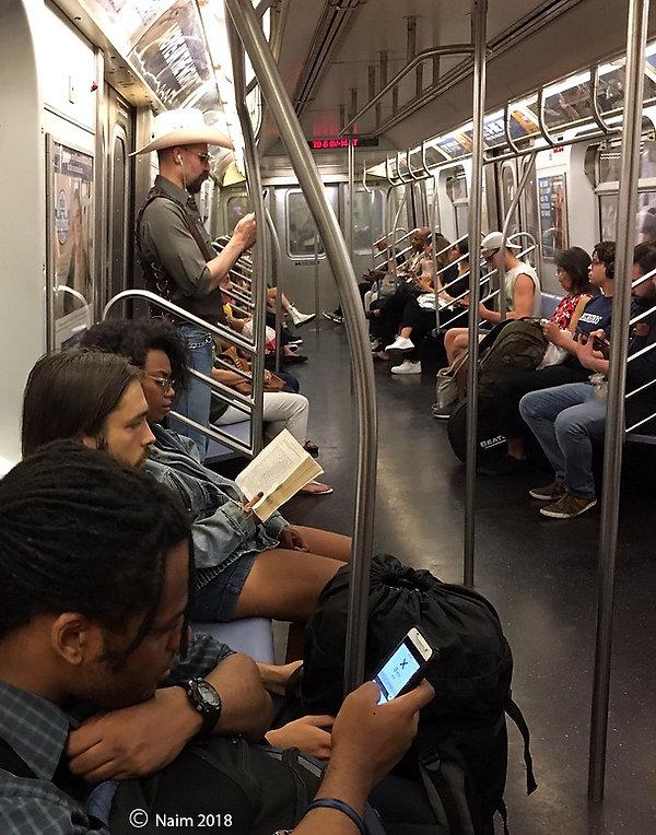 Naimul Karim Naim personal website photography New York subway slickers cowboy