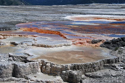 Naimul Karim Naim personal website photography Yellowstone National Park Wyoming dry colorful salt bed