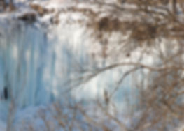 Naimul Karim Naim personal website photgraphy white winter cold Minnesota nature Minehaha Falls frozen Park
