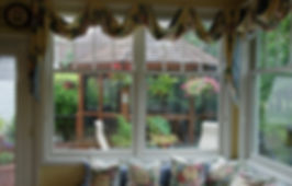 Naimul Karim Naim personal website photgraphy gazebo kitchen window bench comfy inviting backyard