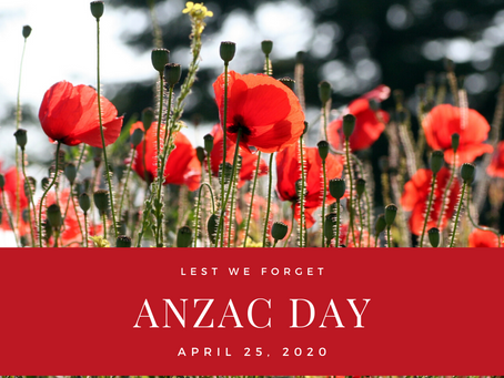 Lest we forget. #anzac2020 #anzacday #LestWeForget