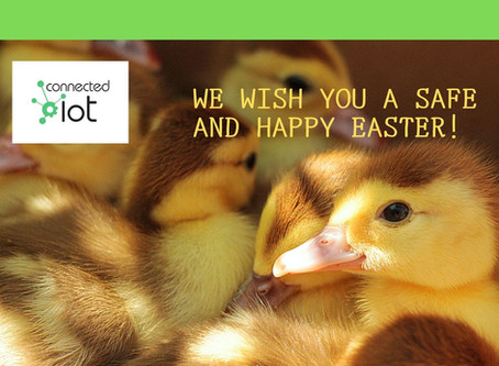 We wish you and your family a Happy Easter! Stay Safe!#stayhomesaveslives #temperaturemonitoring