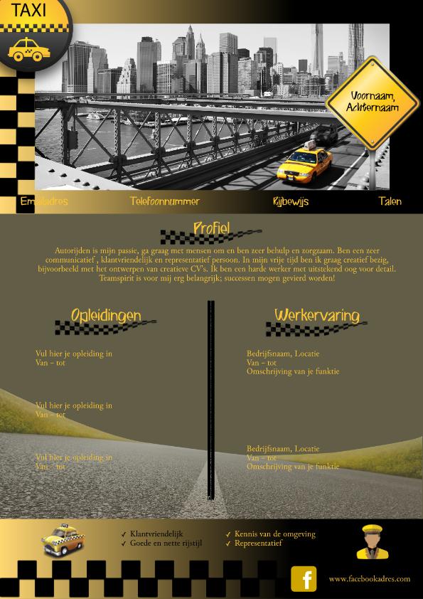 Taxi CV