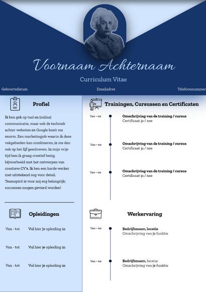 Blauw CV
