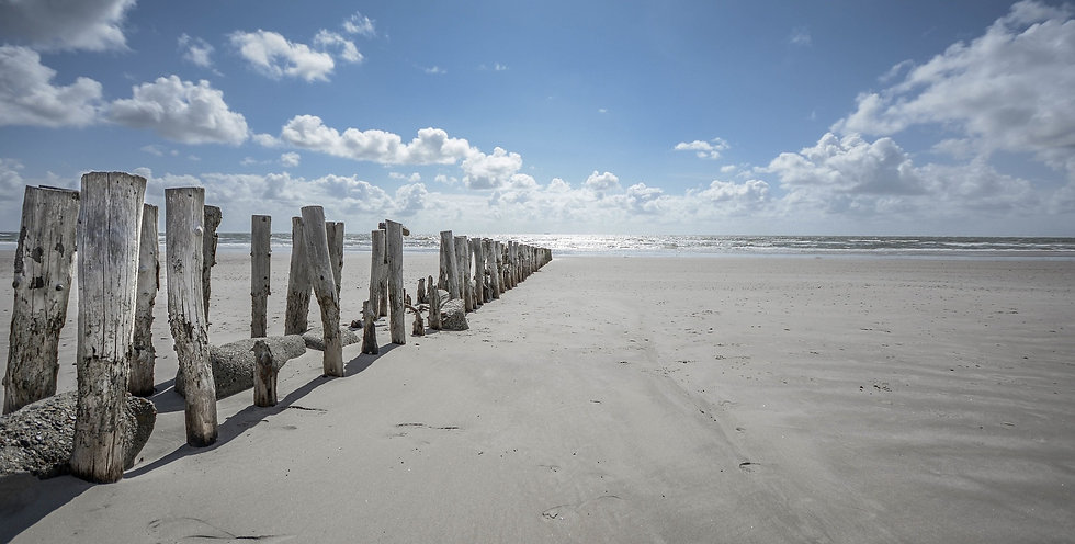 Vakantiehuisje aan zee-Poppendamme Grijpskerke Zeeland-Walcheren-De Mariahoeve Strand