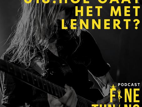 Een album Release En Lesgeven Tijdens Een Epidemie Met Gitarist Lennert Kemper