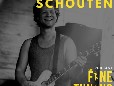 Een Positieve Mindset En Veelzijdigheid Met Gitarist Bas Schouten