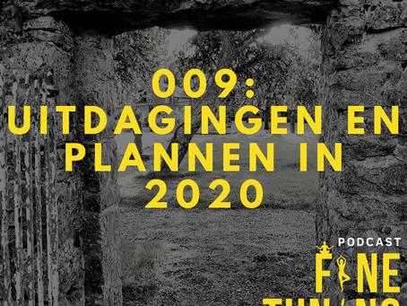 Wat zijn mijn plannen en uitdagingen voor 2020?