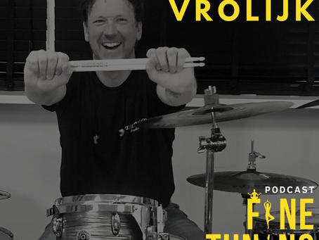 Leven Van Muziek En Inkomensstromingen Met Drummer Jeroen Vrolijk