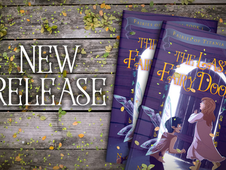 The Last Fairy Door is out now!
