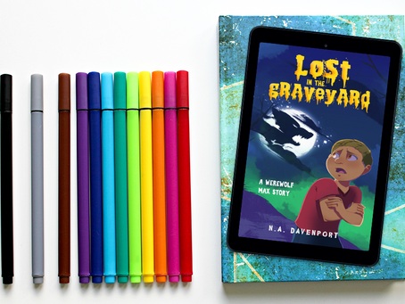 Lost in the Graveyard has a new cover!