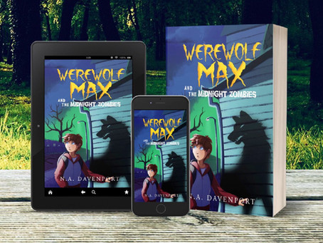 Werewolf Max and the Midnight Zombies is Available for Pre-Order