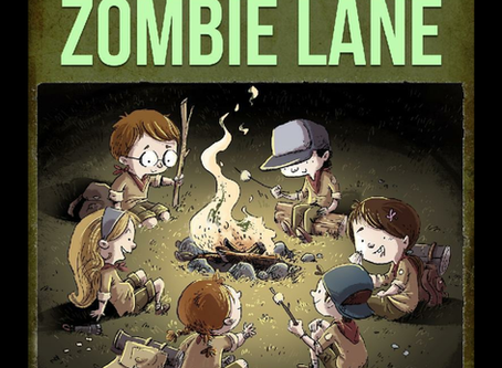 Indie Book Feature: Delivery at Zombie Lane by Titan Frey