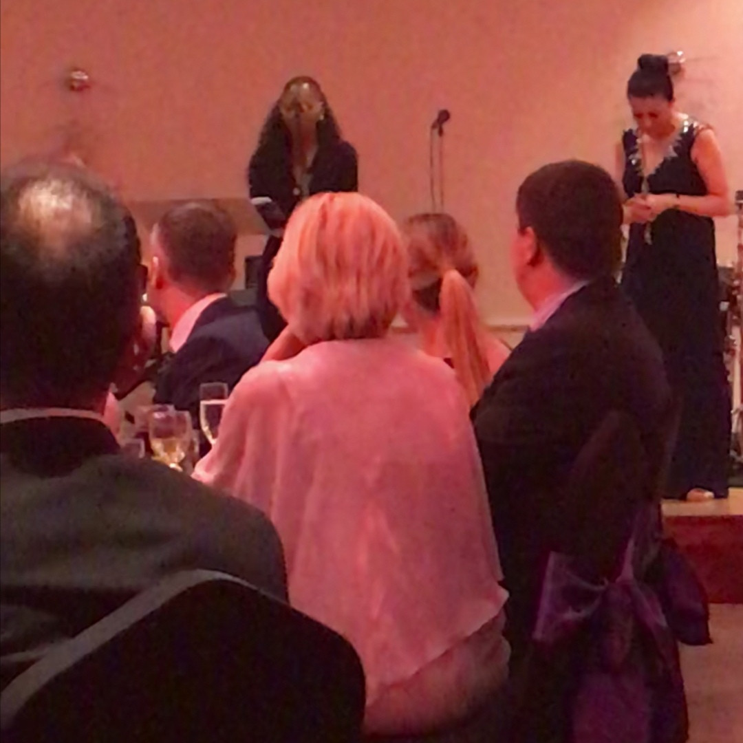 Performer and Guest Speaker at Stepping Stones Luton