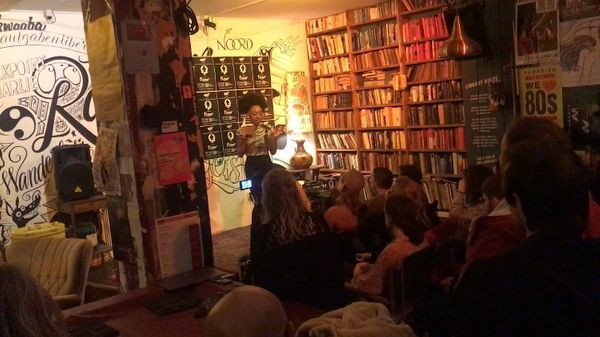 Open Mic at Word Up Amsterdam