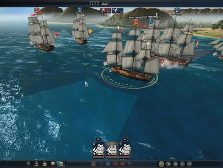 Naval Gameplay